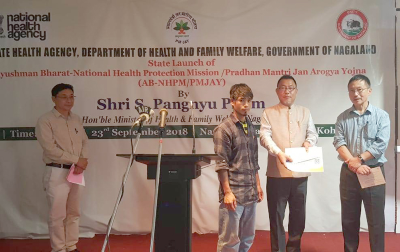Nat'l Health Protection Mission launched in Nagaland