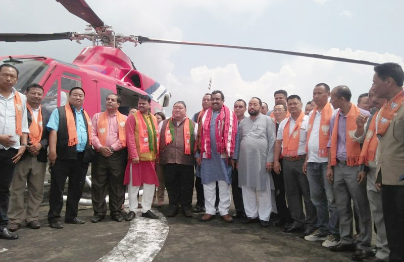 BJP sets election tone in Nagaland