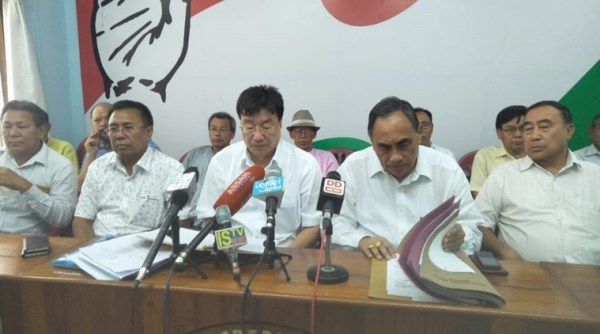 Cease existence of NSCN-IM in state:   Opposition parties of Manipur
