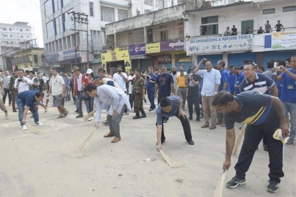 Mass social work conducted across Nagaland