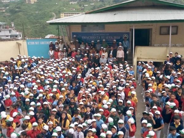 "National campaign ""Swachhata Hi Seva 2018"" launched in Kohima"
