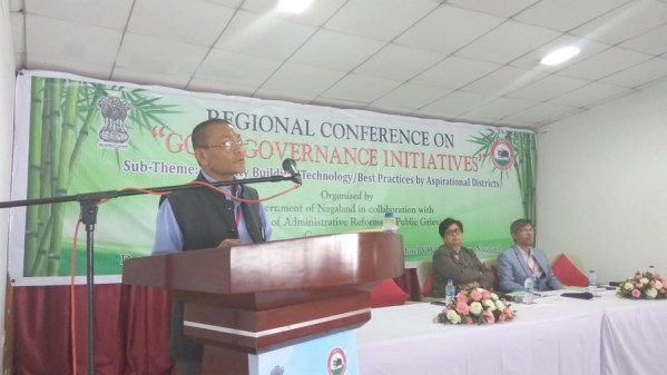 Nagaland CS pitches for faster development of NE