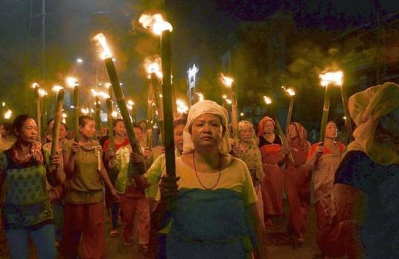 Manipur's women march, urge an end to mob 'justice'