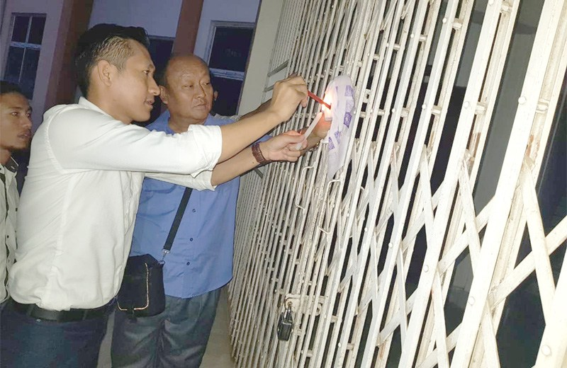 Court seals PWD office complex in Dimapur
