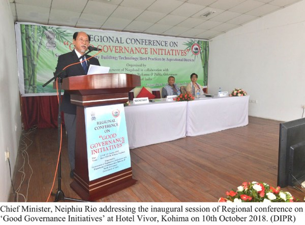 Good governance is a basic  right of citizens: Rio