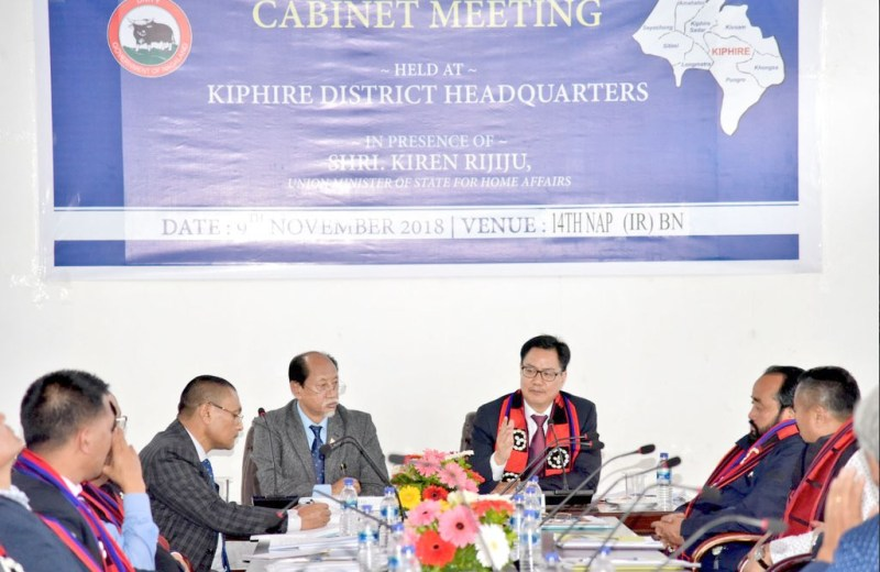 State Cabinet adopts Kiphire Declaration at first ever meet in Kiphire