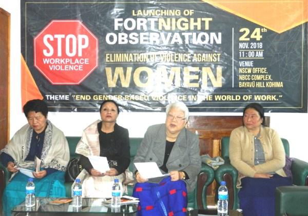 NSCW launches fortnight observation  on ending gender-based violence
