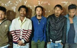 Dimapur police busts gang of robbers