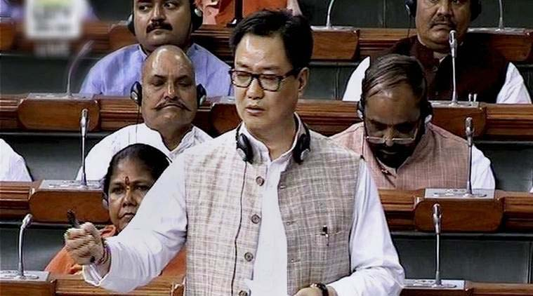Naga talks in 'advanced stage': Rijiju