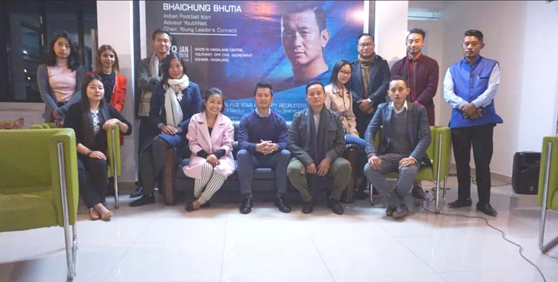 Bhaichung Bhutia launches YouthNet's hospitality program