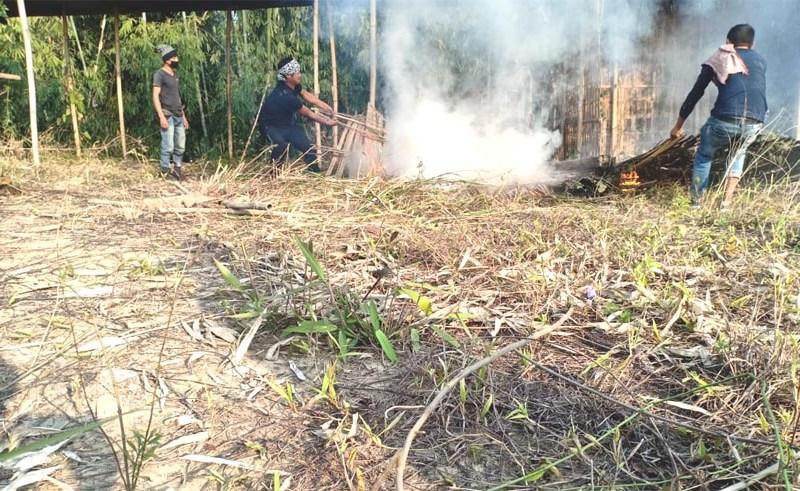 Tension on Assam-Nagaland border flares up again