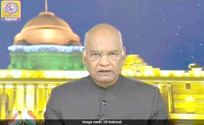 President Kovind urges people to  perform the 'sacred act' of voting