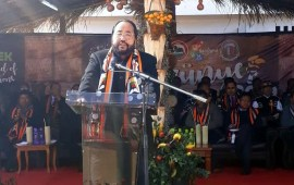 Tribalism has hijacked  Naga society: Patton