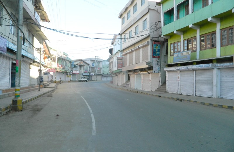 11-hr total bandh passes off peacefully in Nagaland