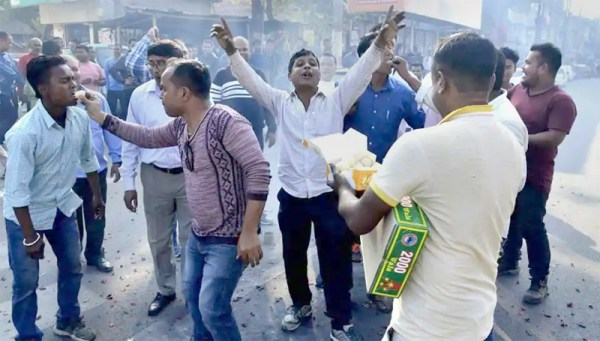 Celebrations in NE as RS adjourns without tabling Citizenship Bill