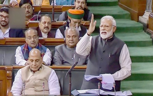 Ready for healthy competition in 2019 polls,  says PM Modi in Lok Sabha