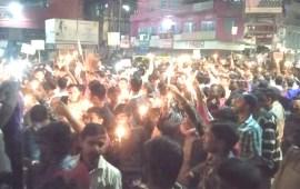 Pulwama attack: Candlelight Vigil organized in Dimapur