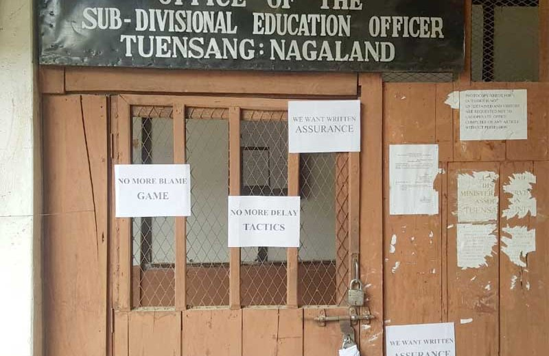 CCSU locks DEO & SDEO  offices at Tuensang