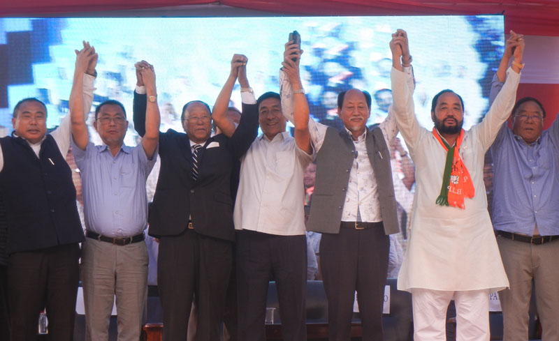 PDA launches campaign for Lok Sabha election