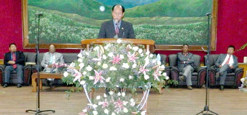 Nagas can't progress without solution: CM