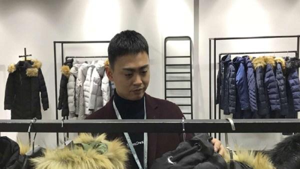 'Amazon coat', a fashion statement from China