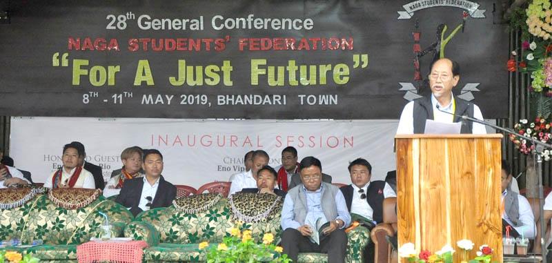 CM decries disunity in Naga society