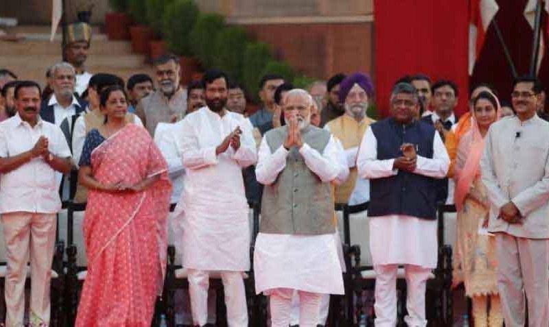 Portfolios of Ministers in  PM Modi's Cabinet announced