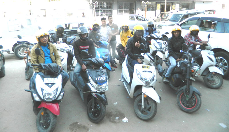 2-wheeler 'taxi' service providers want legalization