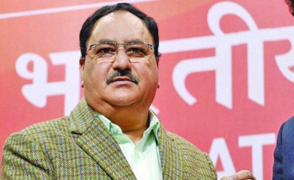 JP Nadda elected working  president of BJP