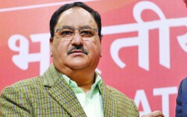 JP Nadda elected working  president of BJP