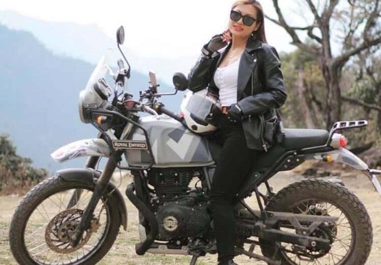 Naga girl on solo bike tour to spread message  of women empowerment