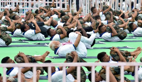 Yoga is above everything, integral part of life: Modi