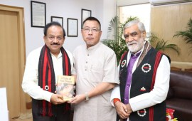 Pangnyu seeks Centre's support for State medical college