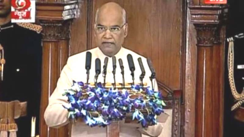 National security is Govt's  'topmost priority': President Kovind