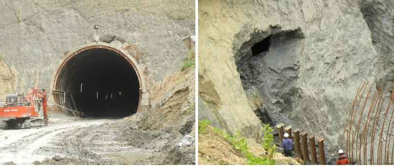 Dimapur-Zubza Railway Project: 1st tunnel excavated at Chumukedima