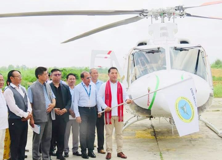Nagaland gets second chopper service