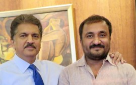 Anand Mahindra confirms Anand Kumar refused  donation