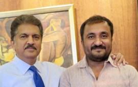 Anand Mahindra confirms Anand Kumar refused  donation