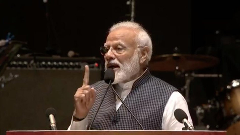 India won't bow to pressure on  national security:  PM Modi