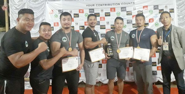 NSFA wins 4 medals at 1st NE Strongman competition