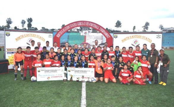 Mizoram XI wins NE Girls U-19 football tourney