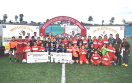 Mizoram XI wins NE Girls U-19 football tourney