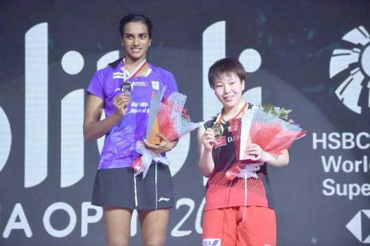 Sindhu settles for silver in Indonesia Open