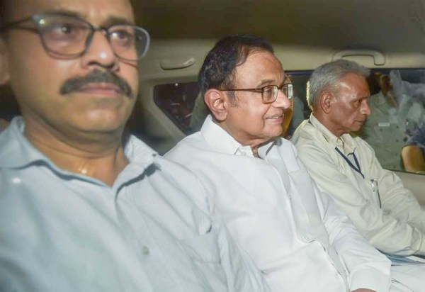 Chidambaram arrested by CBI  in INX media case