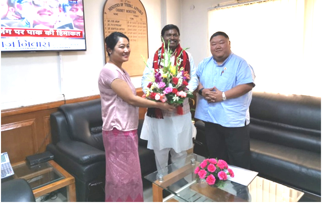 Centre assures assistance to Tribal Affairs Dept