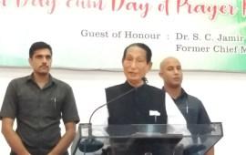Naga youths have power to bring positive change: SC Jamir