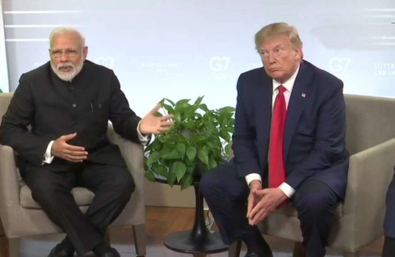 PM Modi rejects 3rd party  mediation on Kashmir, says it is between India-Pak; Trump agrees