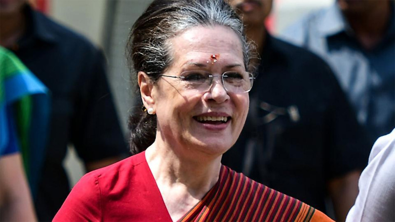 Sonia Gandhi appointed as Congress' interim president
