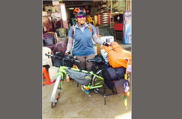 Jyothi cycles to prove 'Indian roads are safe for women'; reaches Dimapur