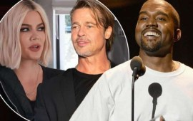 Kanye West 'setting up' sister-in-law Khloe Kardashian with Brad Pitt